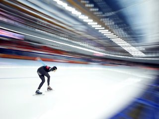 U.S. speedskater speaks out