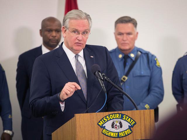 LIVE: Mo. Gov. addresses Ferguson decision