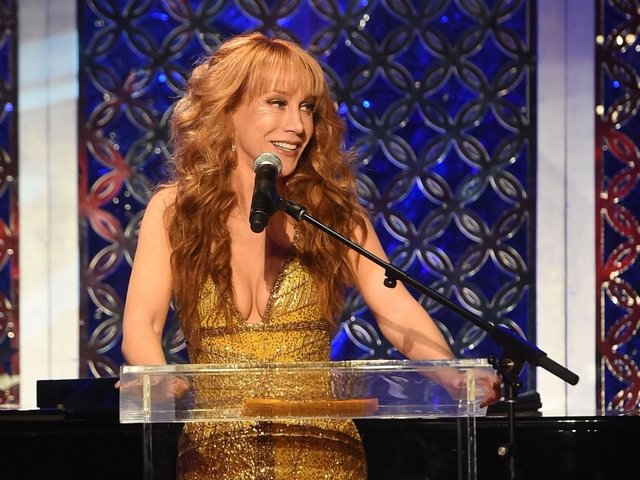 Kathy Griffin Blames the Trumps for Career Downfall