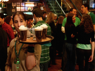 Infographic: How much we'll drink on St. Pat's