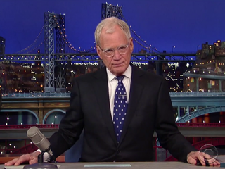Letterman is almost unrecognizable in new photos