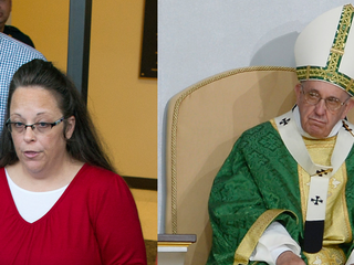 Pope visit with Kim Davis not a form of support