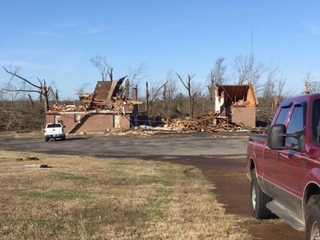 Severe storms kill at least 7 in the Southeast