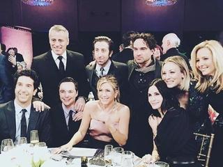 'Friends' cast reunited at tribute (kind of)