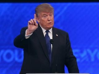 Trump took on (almost) everyone at the debate