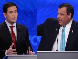 Christie attacks Rubio for 'inexperience'