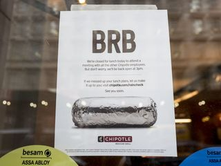 Chipotle closes for all-employee meeting