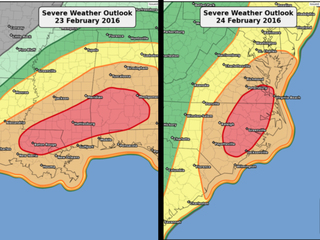 Isn't it a little early for this much severe wea