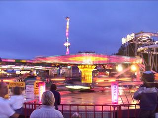 Girl dies after being thrown from carnival ride
