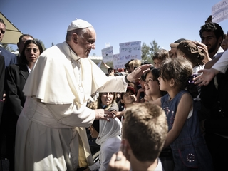Pope Francis says refugees are in danger