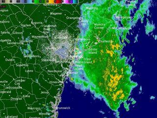 Tropical Storm Bonnie hits the Carolinas