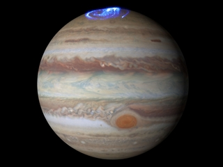 Check out this impressive aurora over Jupiter