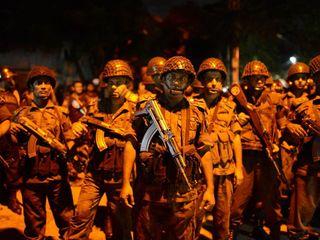 Hostage situation at Bangladeshi restaurant