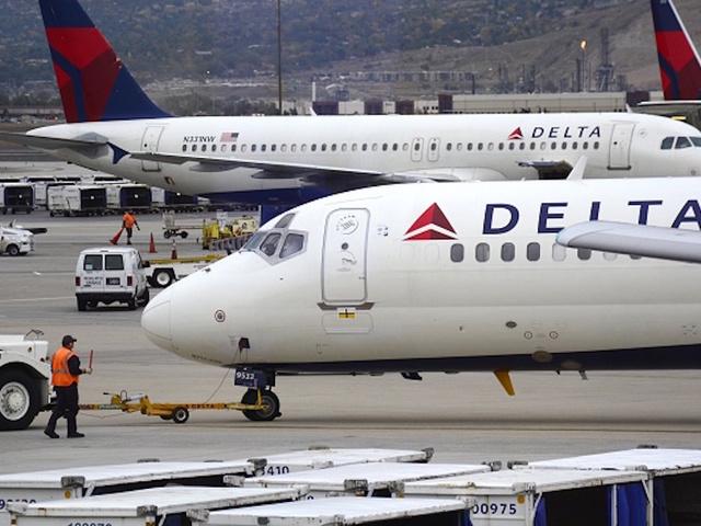 Delta flight mistakenly lands at Ellsworth Air Force Base