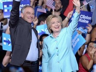 Trump nicknames Clinton VP pick 'Corrupt Kaine'