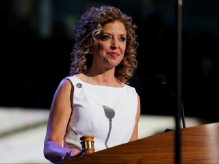 DNC chair's convention role is in question