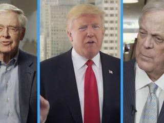 Trump and Koch brothers keep rejecting meetings