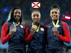 Which US states earned the most Olympic medals?