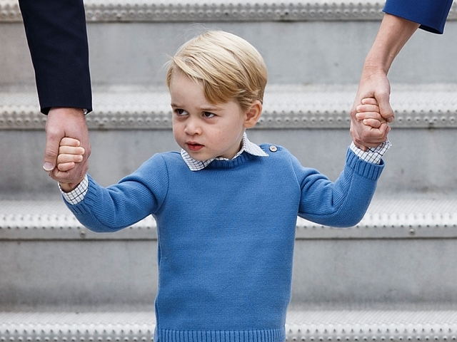 Prince George refuses greeting from Canada's prime minister upon arrival in Victoria