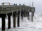 WATCH: North Carolina pier collapses into ocean