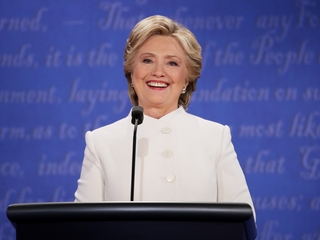 Poll shows Clinton leading Trump by 12 points