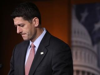 Paul Ryan is losing popularity among Republicans