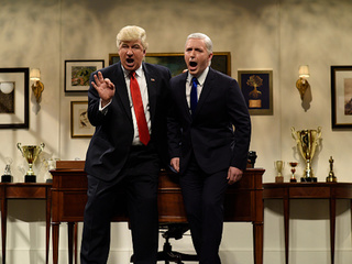 Trump blasts SNL again for skit