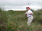 Trump's aides don't want to admit he is golfing
