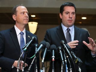 Nunes, Schiff split over Trump surveillance