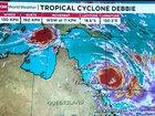 Severe cyclone Debbie aiming for Australia