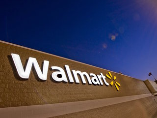 Walmart workers delivering packages on way home