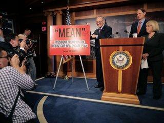 Democrats criticize Senate GOP health care bill