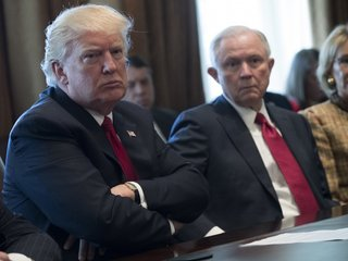 Trump criticizes AG Sessions in interview
