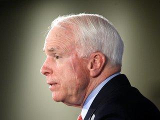 John McCain won't vote for new healthcare bill