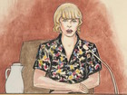 Taylor Swift fans not loving courtroom sketches