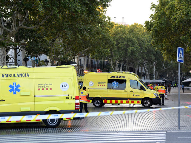 Injuries Reported, Evacuations Underway After Van Plows Through Crowd in Barcelona