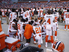 Cleveland cops to join Browns on field Sunday