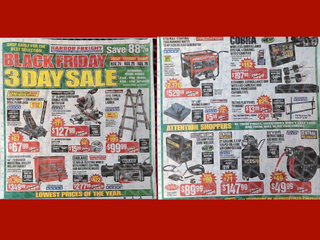 Earliest Black Friday ad ever is released