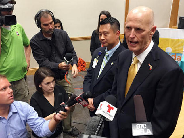 Zika hits South Beach area, Florida governor says